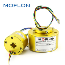 Slip rings, 360 rotating electrical connector,2~96wires, moflon electrical rotary joint,assembly