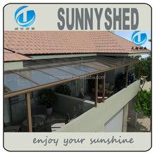 aluminio r shape balcn terraza patio toldo dosel