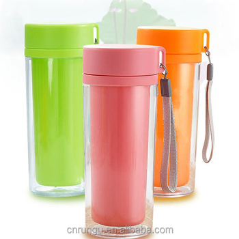 Whole Reusable Plastic Cup With Lid Loop