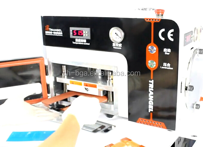 Dinghua OCA laminating machine for mobile refurbished repair tool