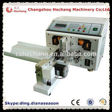 Automatic multi color el wire wire cutting stripping twisting machine