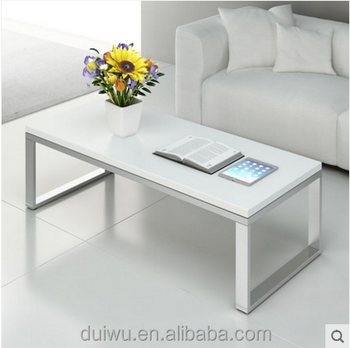 Modern home furniture living toom white marble coffee tables