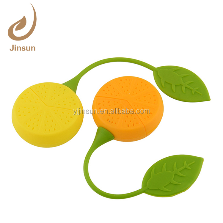 FJ-10 Silicone Lemon Shaped Tea filter tea infuser for loose tea