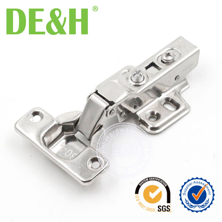 9mm SUS201 hydraulic hinge for bathroom cabinet