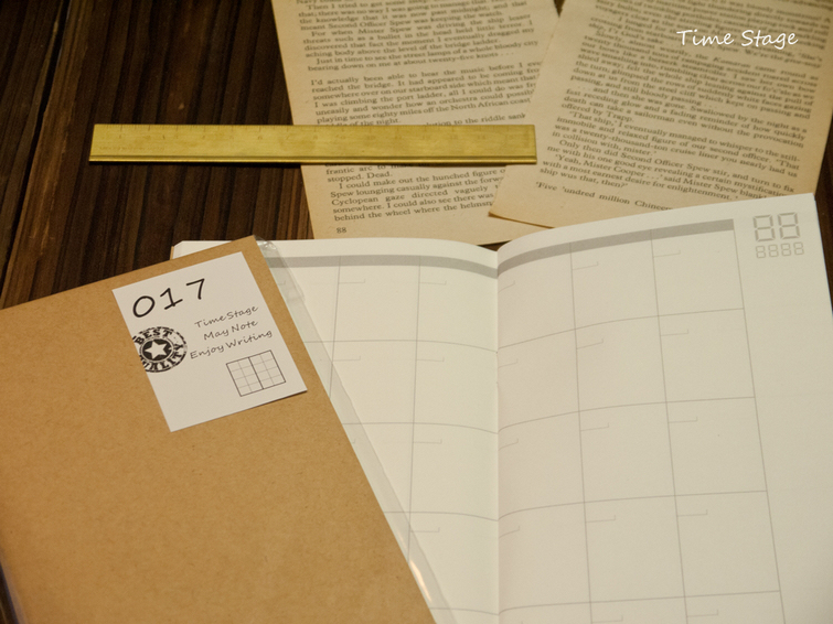 Travelers Notebook Refill  Monthly