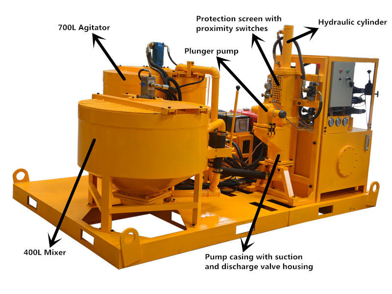 Backfill Grout Specialized Construction Machine High