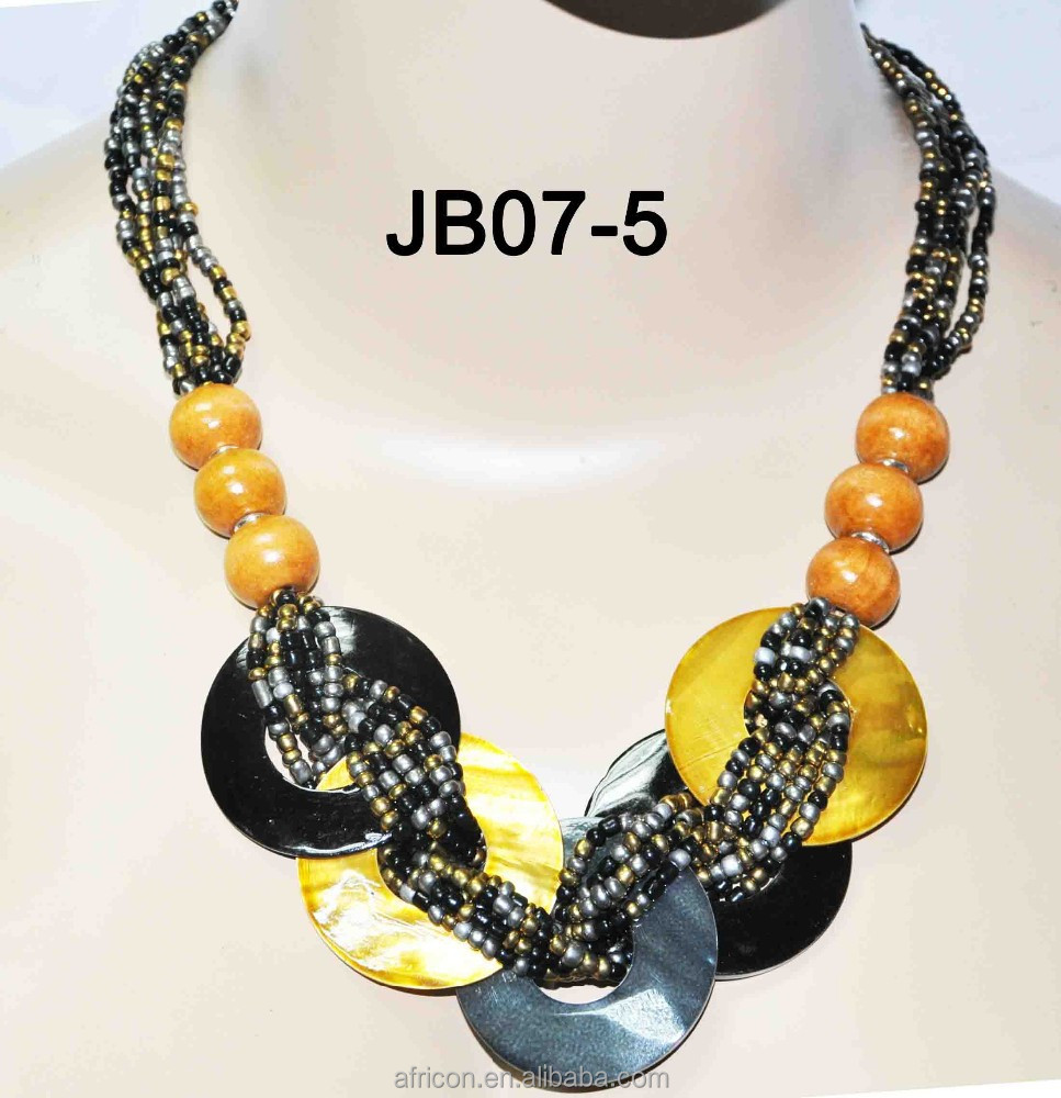 2015 JB07-5 strass déclaration pendentif perle collier de perles grand collier de perles