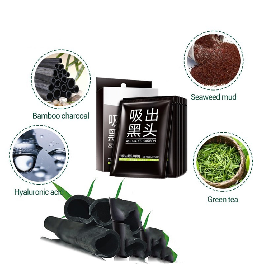 Black Peel Off Mask Suppliers And Manufacturers Bioaqua Activated Carbon Charcoal At