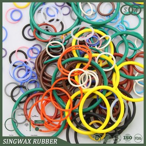 Oil Resistance Rubber Seal Ring / Silicone Butterfly Valve Seat Ring
