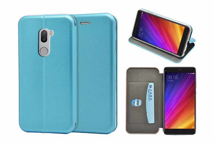 For Xiaomi 5s plus wallet case, full curved PU leather phone case