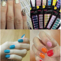 Manicure breathing _ Nail Sticker