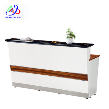 best selling beauty salon furniture counter table for sale R008