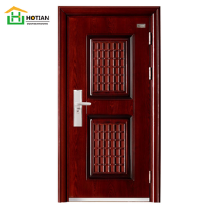 Burglar Proof Steel Door Single Door Steel Locker Grill Door Design In Mild Steel