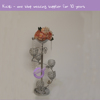 ZT00270 5arms Tall wedding crystal globe candelabra centerpiece,candle holder for wedding table