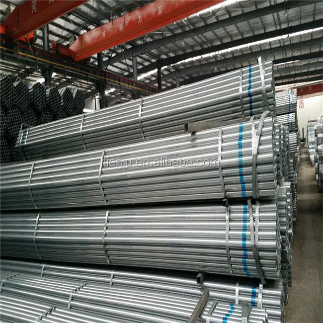 S355J2G3 Standard Length Schedule 40 Galvanized Carbon Steel Pipe