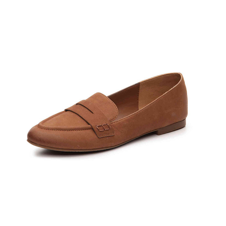 2018 Ladies Flat China Leather Loafer Women Casual <strong>Shoes</strong>