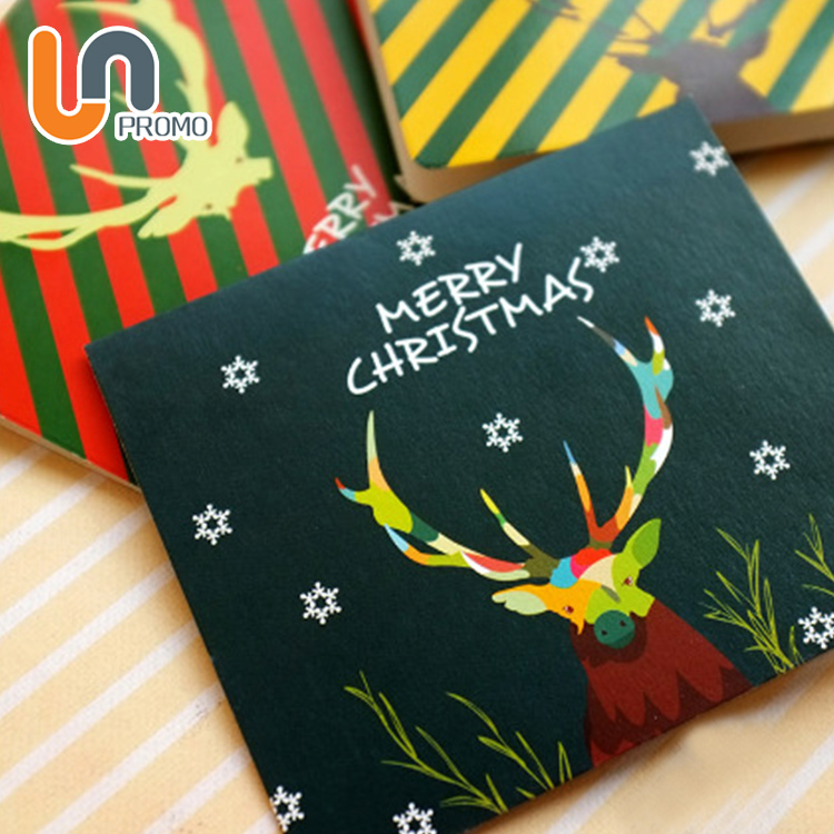 Super September Happy Elegent Greeting Cards For Christmas Day