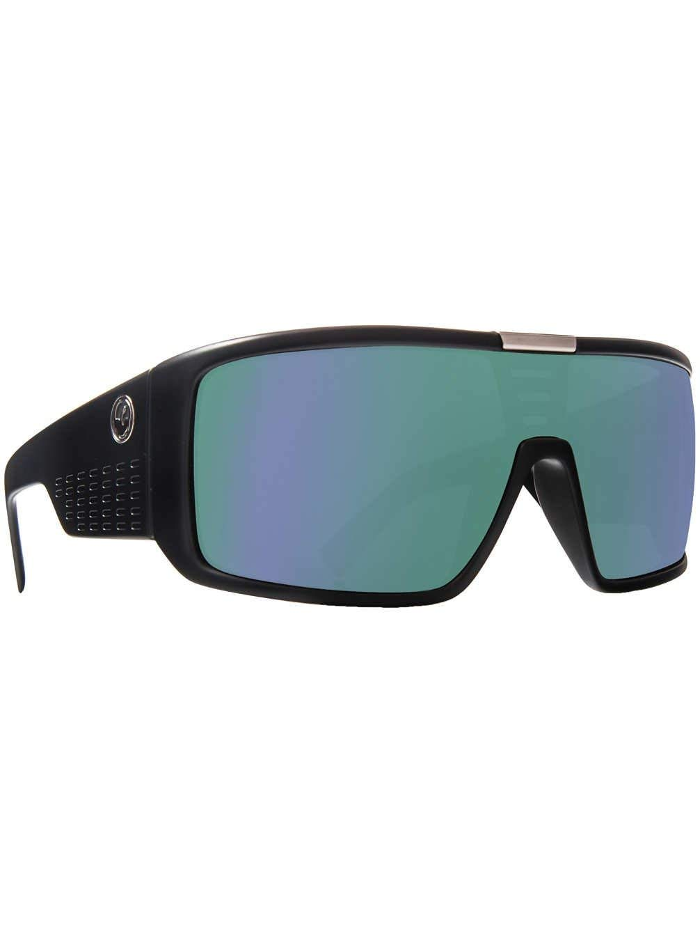 7b9a18a214 Get Quotations · Dragon Alliance Domo Matte Black Frame with Green Ion Lens  Sunglasses