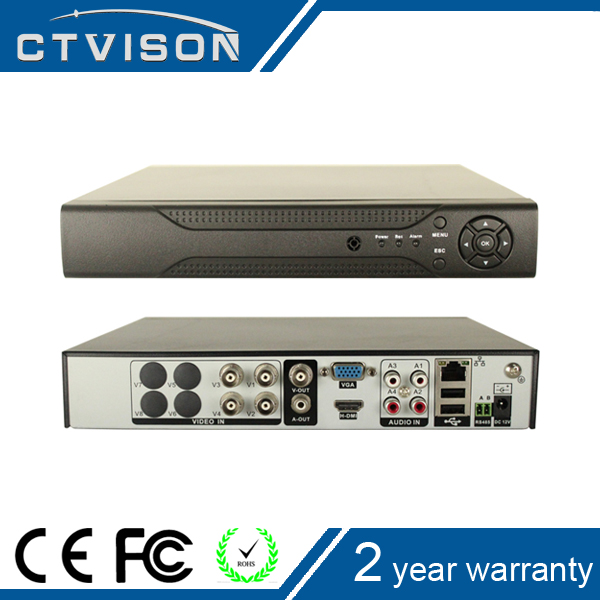 more vivid hd dvr casing 4 Channel 720P CCTV 1080N Video Recorder Work For AHD IP Analog Camera