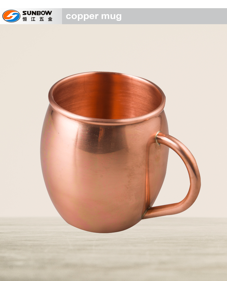 Copper mug manufacturer moscow mule 100% copper mug
