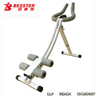 Js-003 Ab Trainer Power Gym Slide Body Gym Equipment Tv Home Gym ...