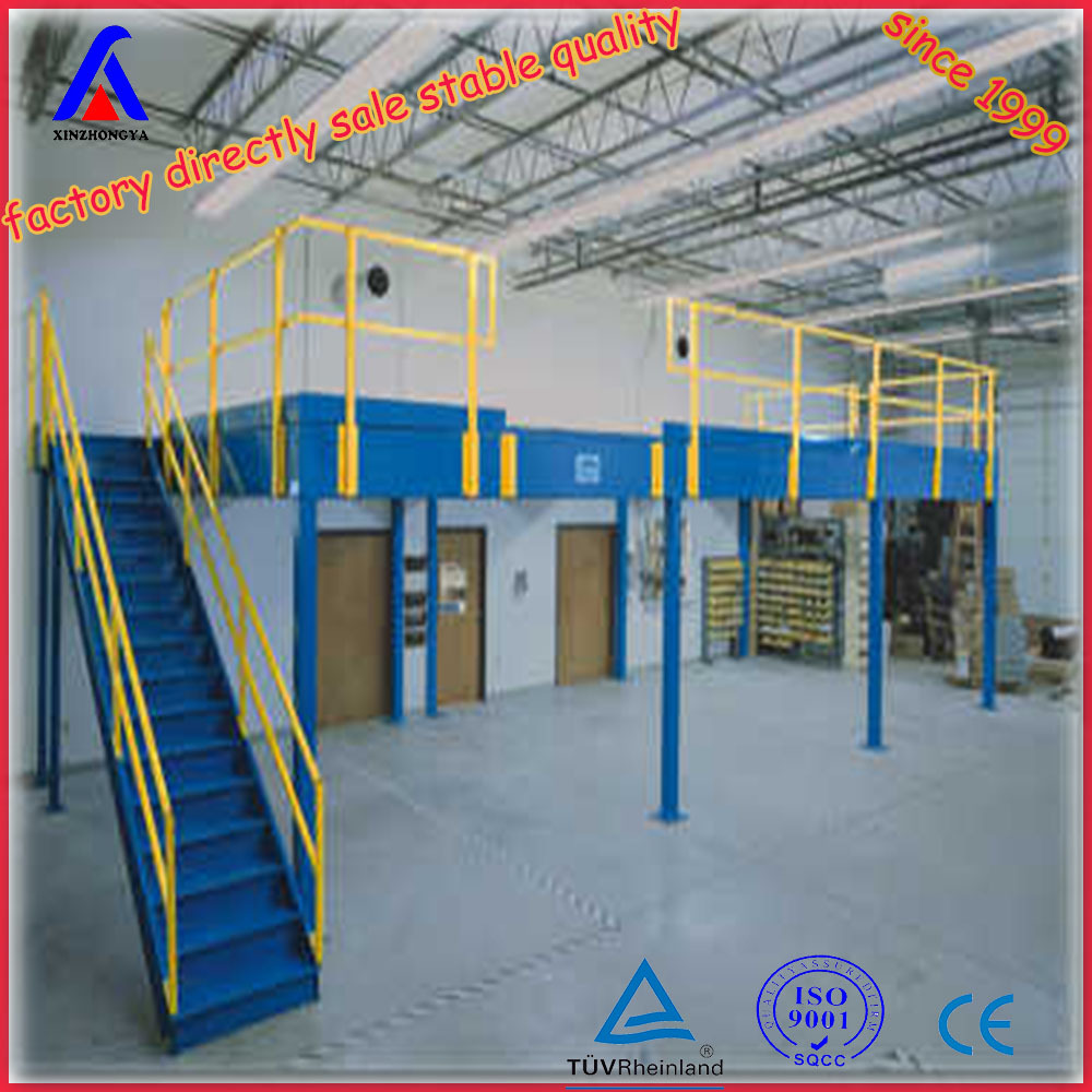 Steel Structure Platform Mezzanine Floor For Site Office
