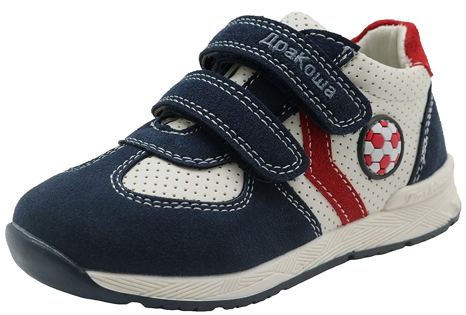 Vulladi Spain MEX Boys Fashion Sneakers Navy Blue//Toddler Boy to Little Boy