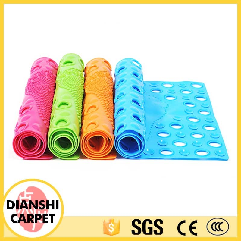 Wholesale Home Compound Wall To Wall PVC Bathroom Rug