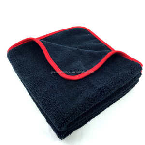 16x16inches 380gsm Auto Detailing Towel Microfiber Cleaning Cloth