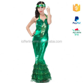 Wholesales Green Cheap Cosplay Adult Fish Costume Buy Adult Fish