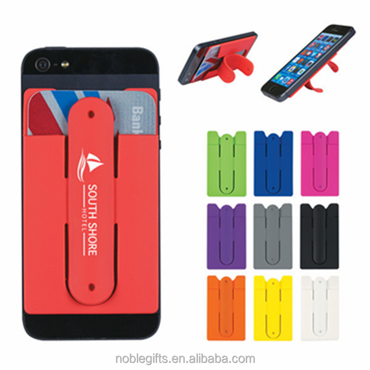 Cell Phone Card Holder >> Silicone Card Holder Wallet The Cool And Fashionable Plastic Bus