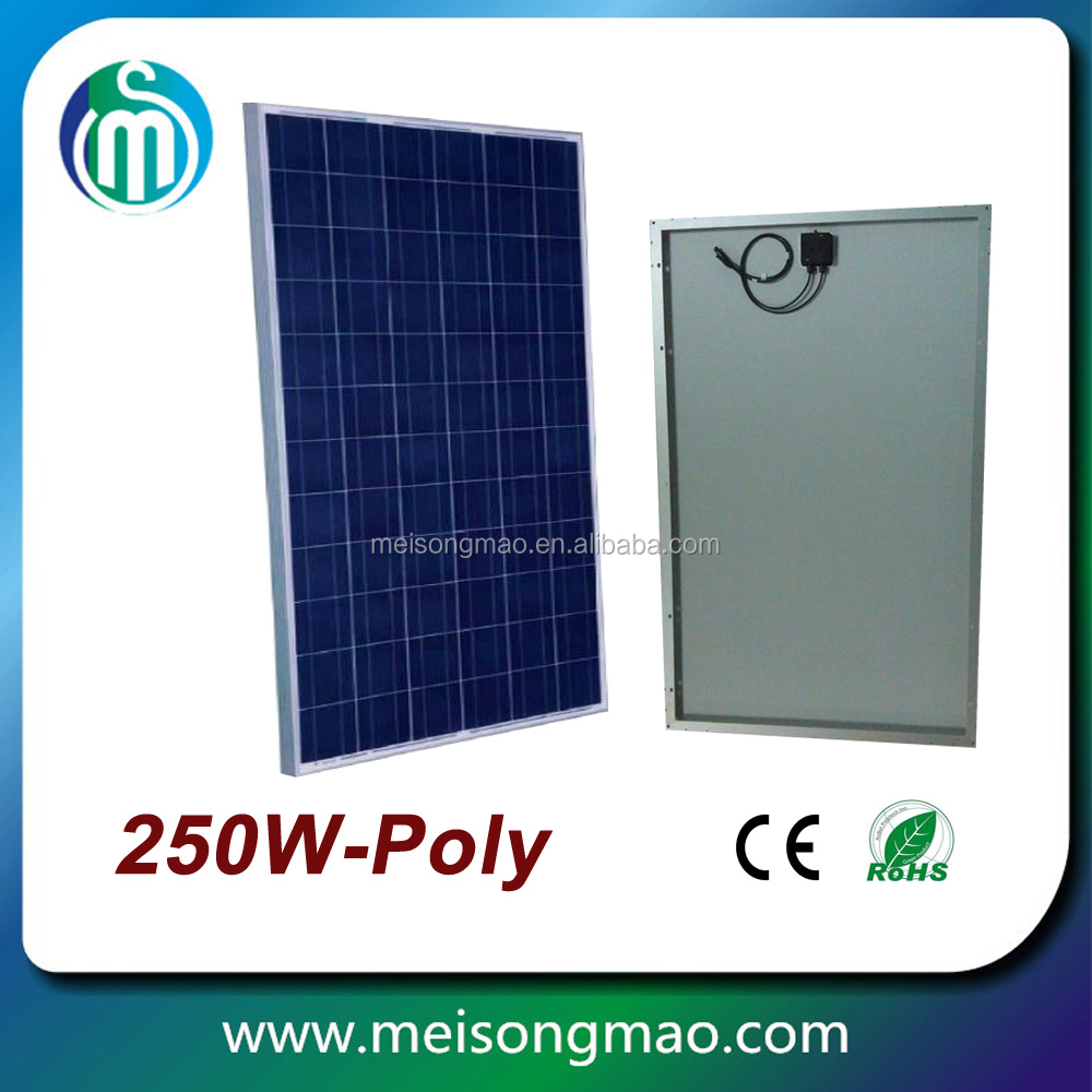 manufacturers in china 36V 260W mono 250w solar modules pv panel
