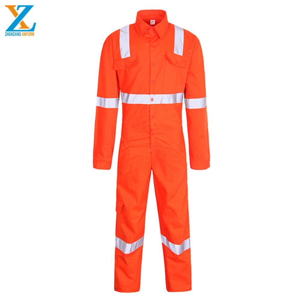 fire retardant anti static hi vis workwear uniform