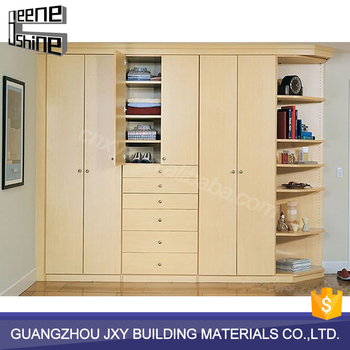 Guangzhou Hot Sale Good Material Bedroom Closet Wood Clothes Wardrobe  Cabinets