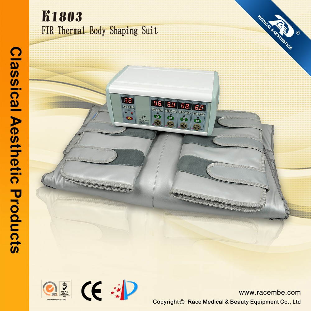 FIR Thermal Heating Blanket Slimming Infrared Body Wrap K1803