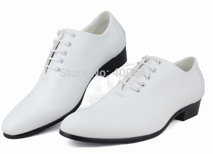 95271b95b Buy Hot Sell White Groom Men's Wedding Shoes Cool Man Prom Shoes  Leather Shoe Casual Shoes NO:3 in Cheap Price on m.alibaba.com