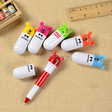 Cute mini bullet/pill shaped ball point pen