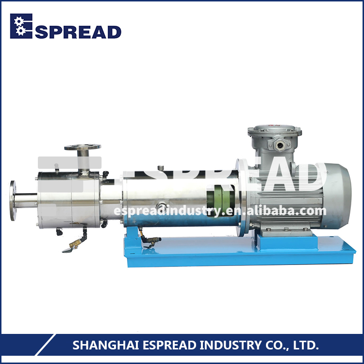 Honest Factory ESPREAD ESSW3 Three Stage Pipeline Inline High Shear Continuous Mixing Disperser Homogenizer Emulsifier