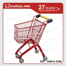 Support customized smart 17L little shopping trolley cart for child