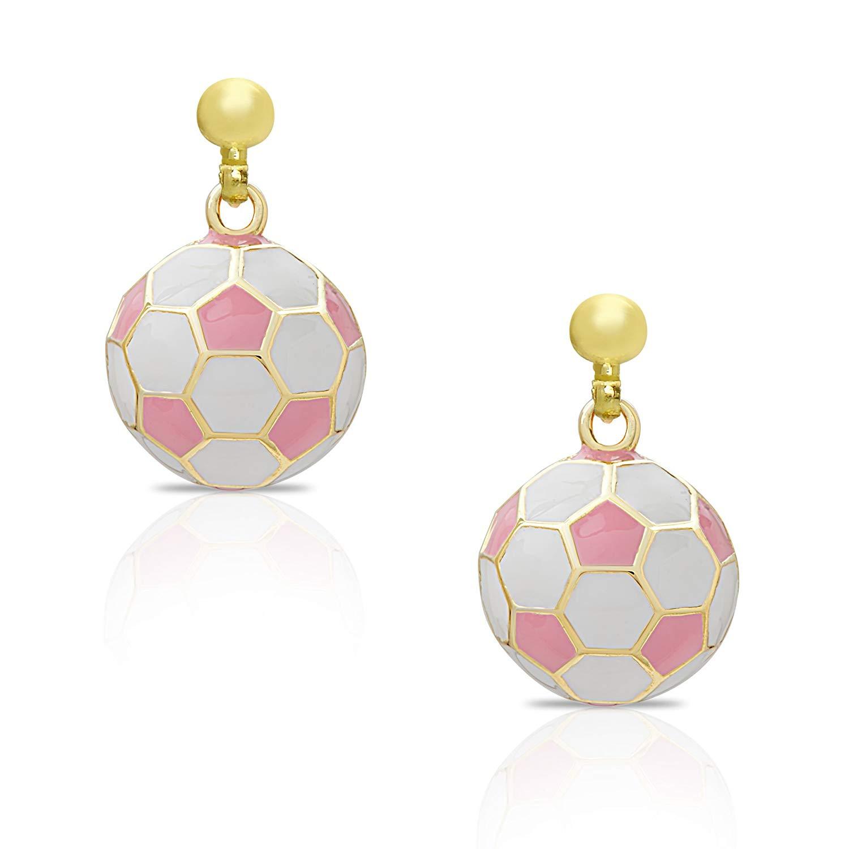 Heirloom Finds Sports Silvertone Crystal Enamel Soccer Ball Pendant Necklace