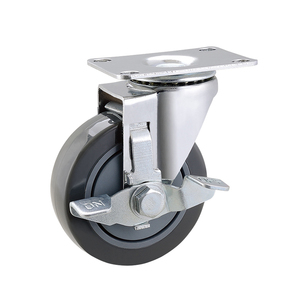 "Hot Sale Handling Equipment Parts 4"" Top Plate Caster Wheels"
