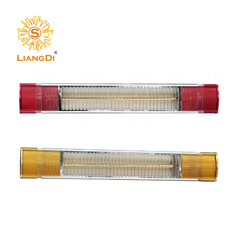 Wall mount heater infrared halogen or ceramic heater
