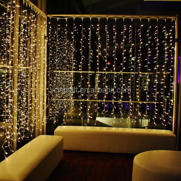 Super Beautiful Decorative Light Wedding Fairy Light Curtain