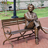 Wholesale Life Size Metal Craft Bronze Artpark Sculpture