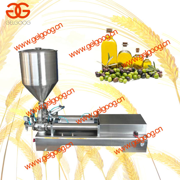 Double heads olive oil | toothpaste filling machine / Double heads piston liquid and paste filling machine