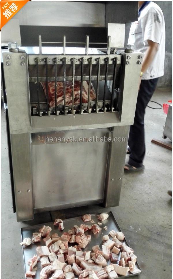 Can Customized Frozen Meat Cutter Diced Pork Machine Frozen Meat Cutter Frozen Beef Cutter Machine