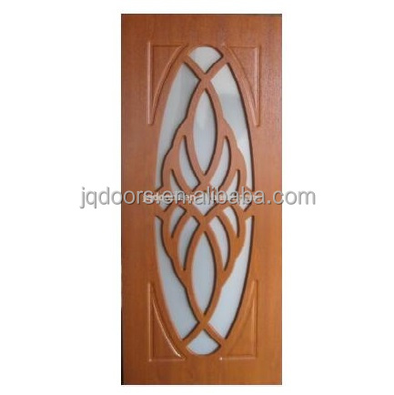 Russia market PVC/MDF wooden bathroom door,interior bathroom doors