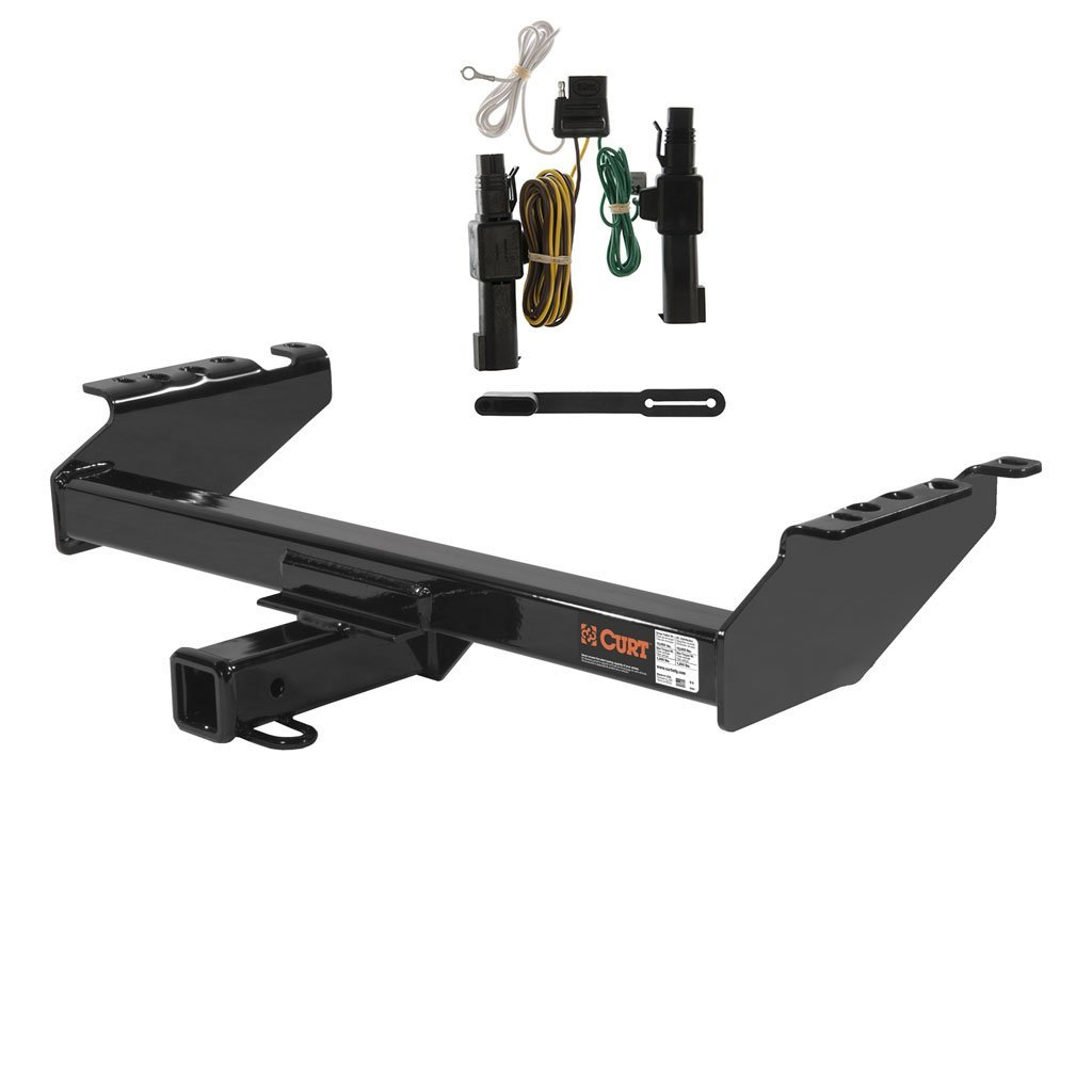 Get Quotations · CURT Class 4 Trailer Hitch Bundle with Wiring for 1994 Dodge  Ram 1500, Ram 2500