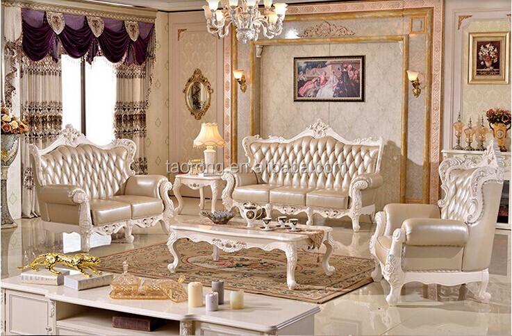 Op maat gemaakte antieke europese stijl sofa set meubels for Muebles modernos estilo europeo