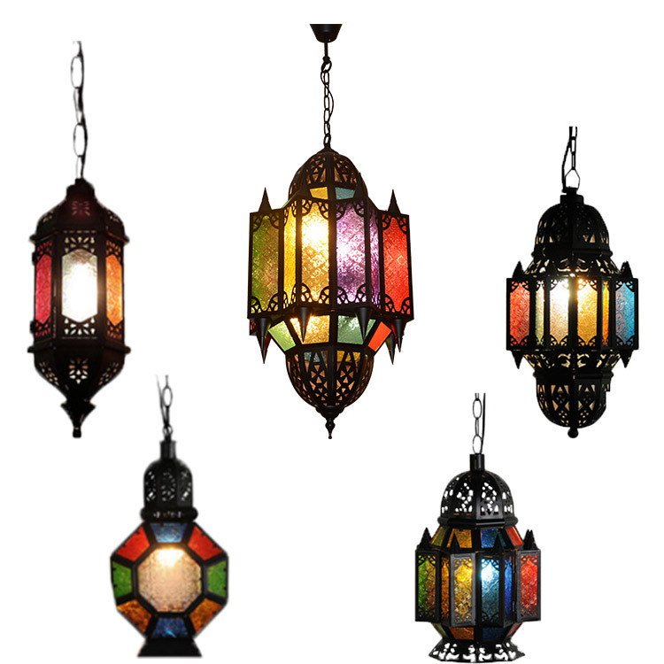 Turkish Mosaic Ic Hanging Lamps